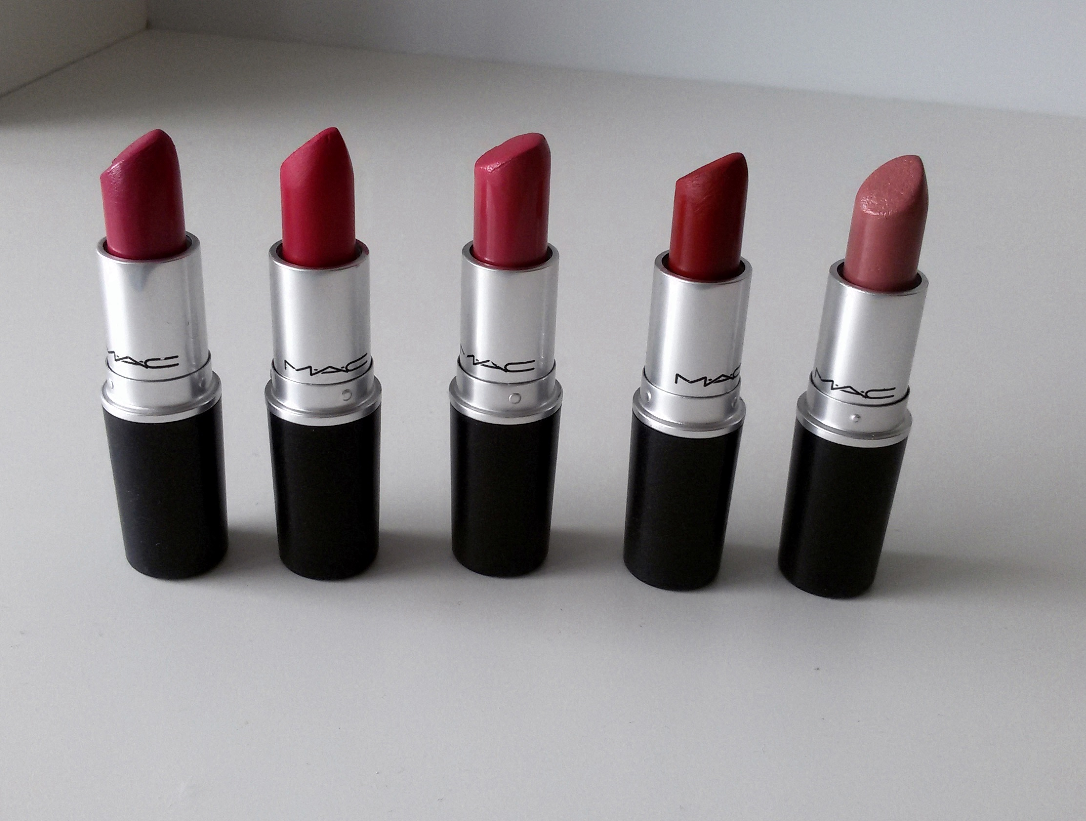 Genoeg Mijn Mac lipsticks - Cozy Me &MH13