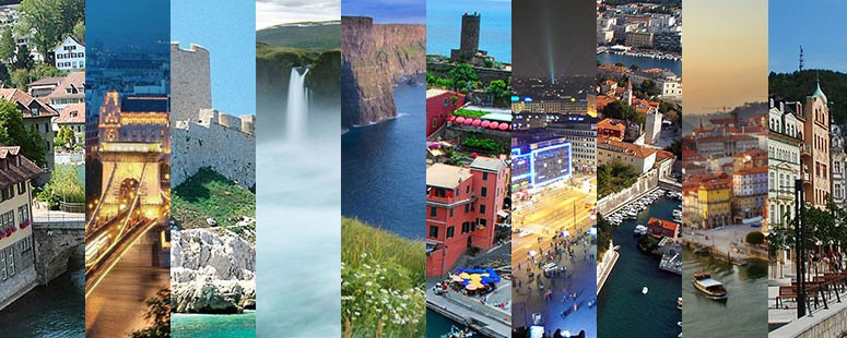 De 10 mooiste vakantiebestemmingen binnen Europa