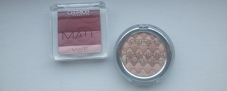 Catrice: Multi matt blush & Highligting powder