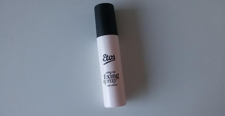 Etos make-up fixing spray