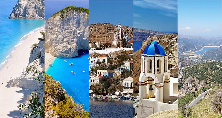 De 5 mooiste Griekse eilanden